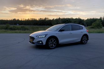 De nieuwe Ford Focus Active Business cross-over autoreview van B4men