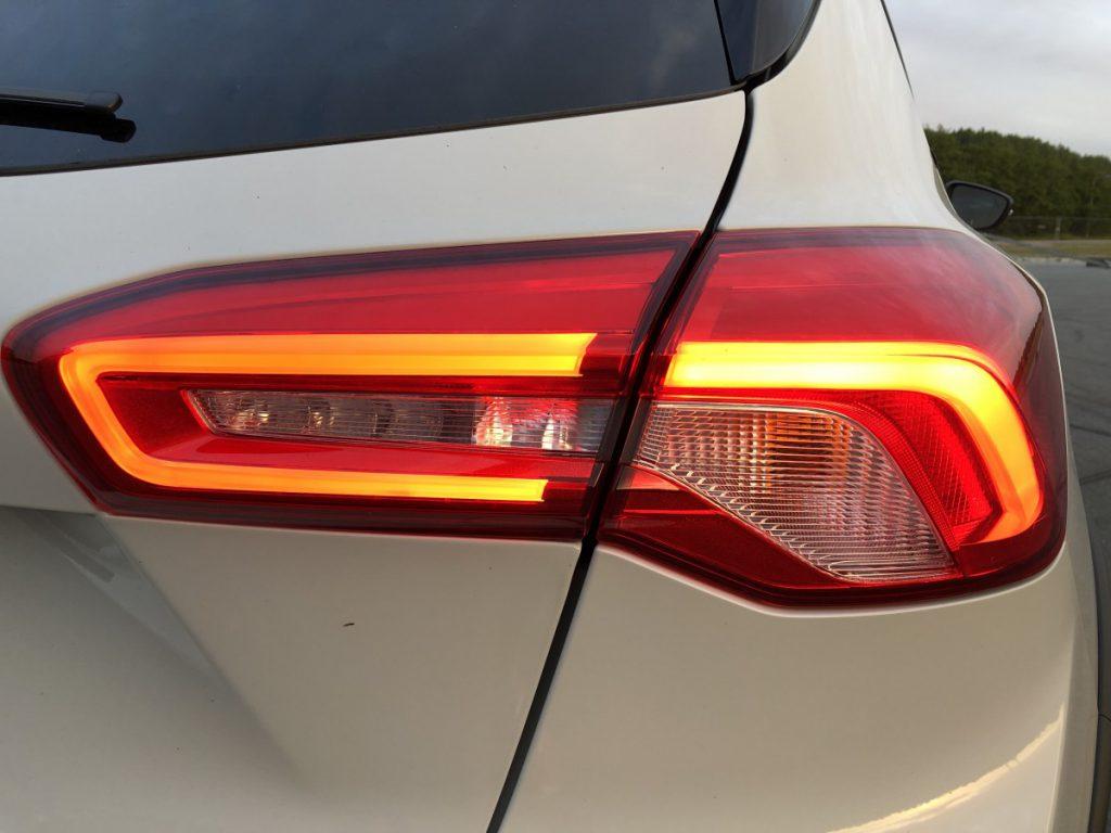 achterlicht van de Ford Focus active 2019
