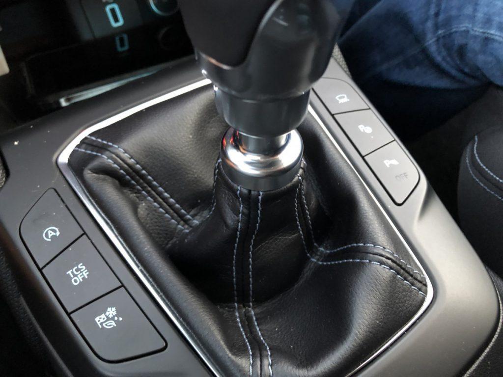 Hand geschakelde Ford Focus