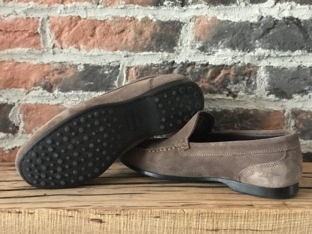 Onderkant van de schoenen