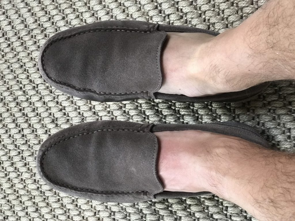 bovenaanzicht schoenen