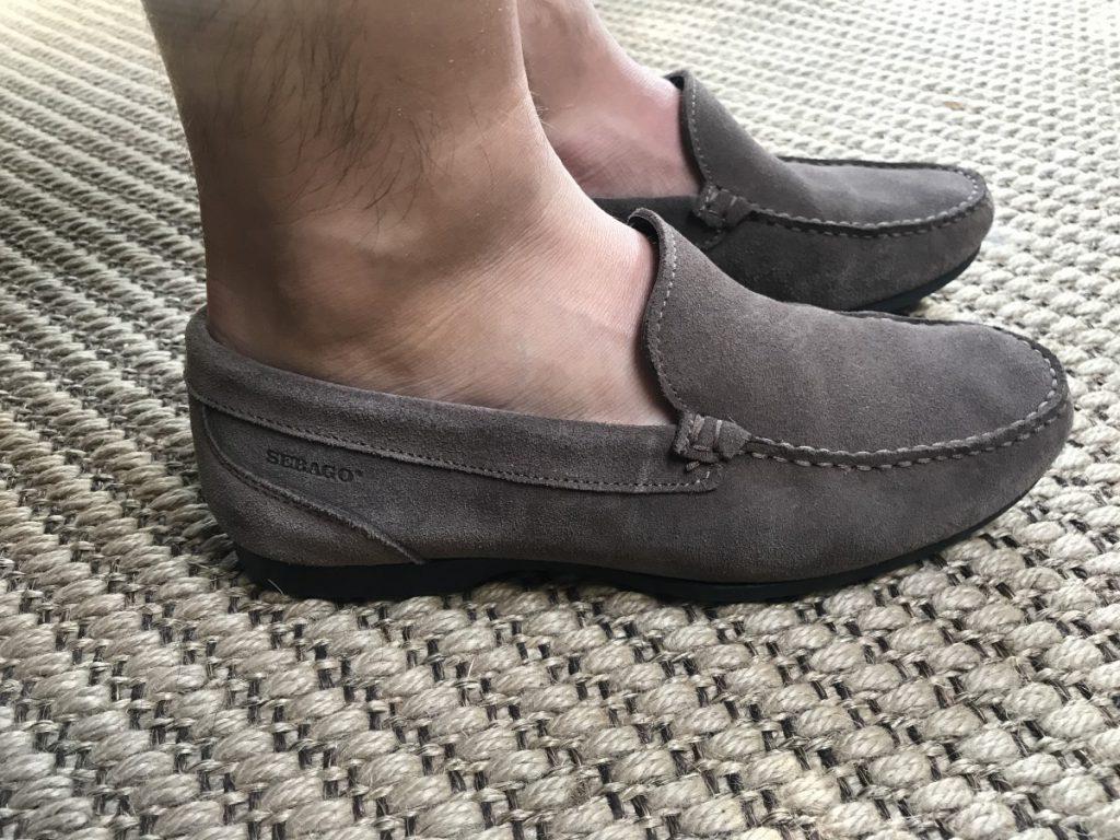 Jan Willem Huffmeijer draagt de schoenen van Sebago