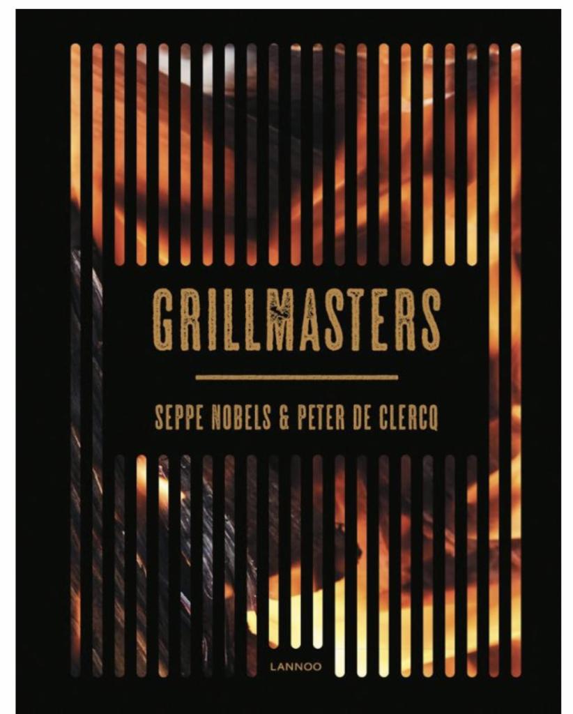 Voorkant van het BBQ Boek Grillmasters