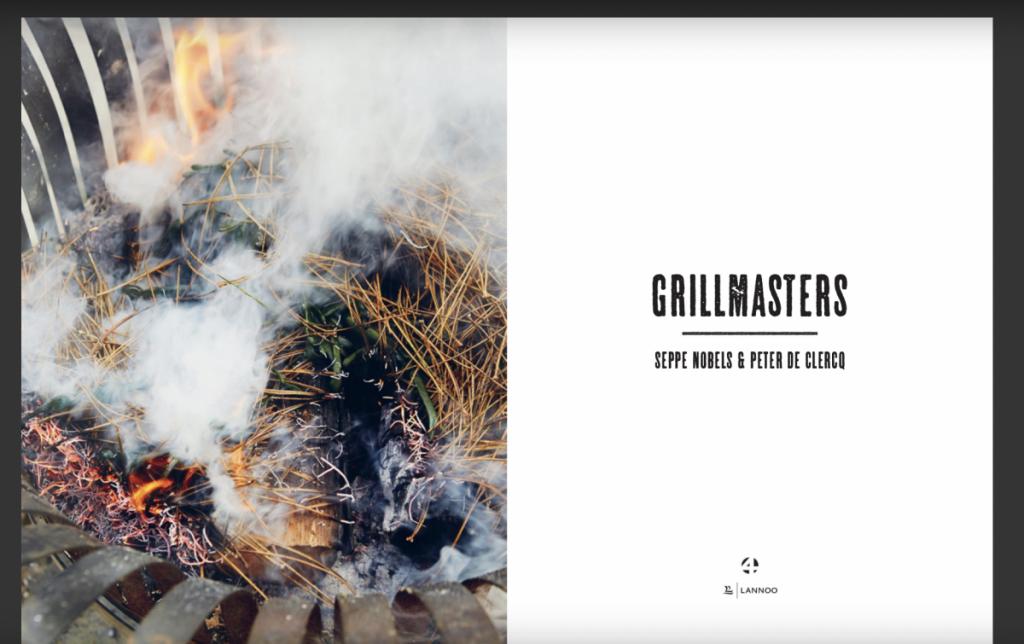 Grillmasters het boek voor mannen die van bbqen houden