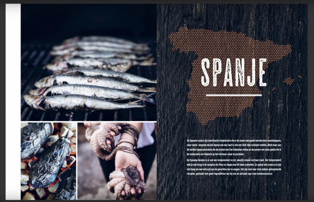 Spanje een van de landen waar de recepten vandaan komen.