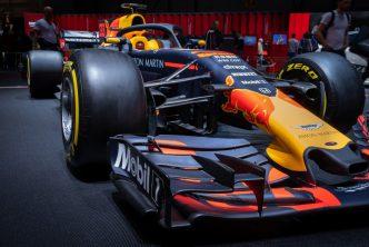 F1 auto van Max Verstappen