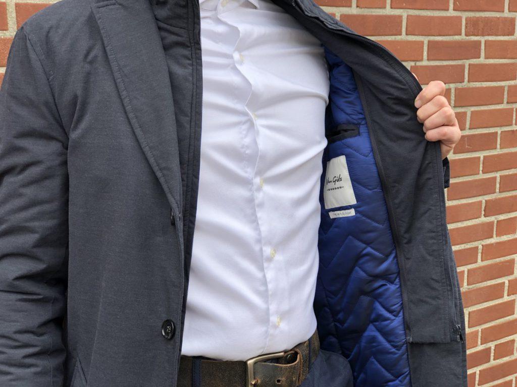 Detail foto van de outfit van Jan Willem Huffmeijer