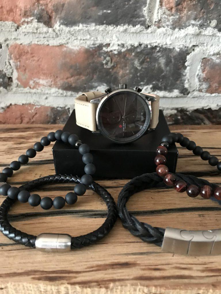 Horloge en armbanden voor heren van Sam Lewis London