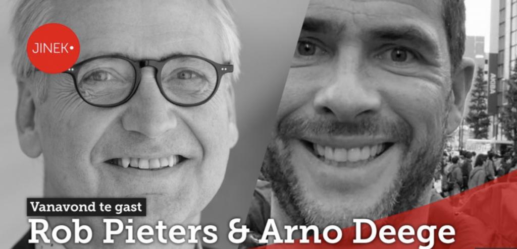 Rob Pieters en Arno Deege