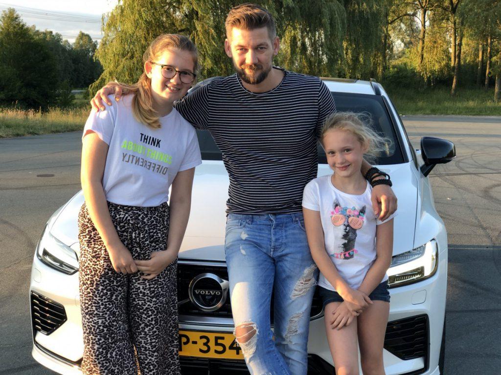 Samen met mijn gezin hebben wij genoten van de Volvo v60 t8