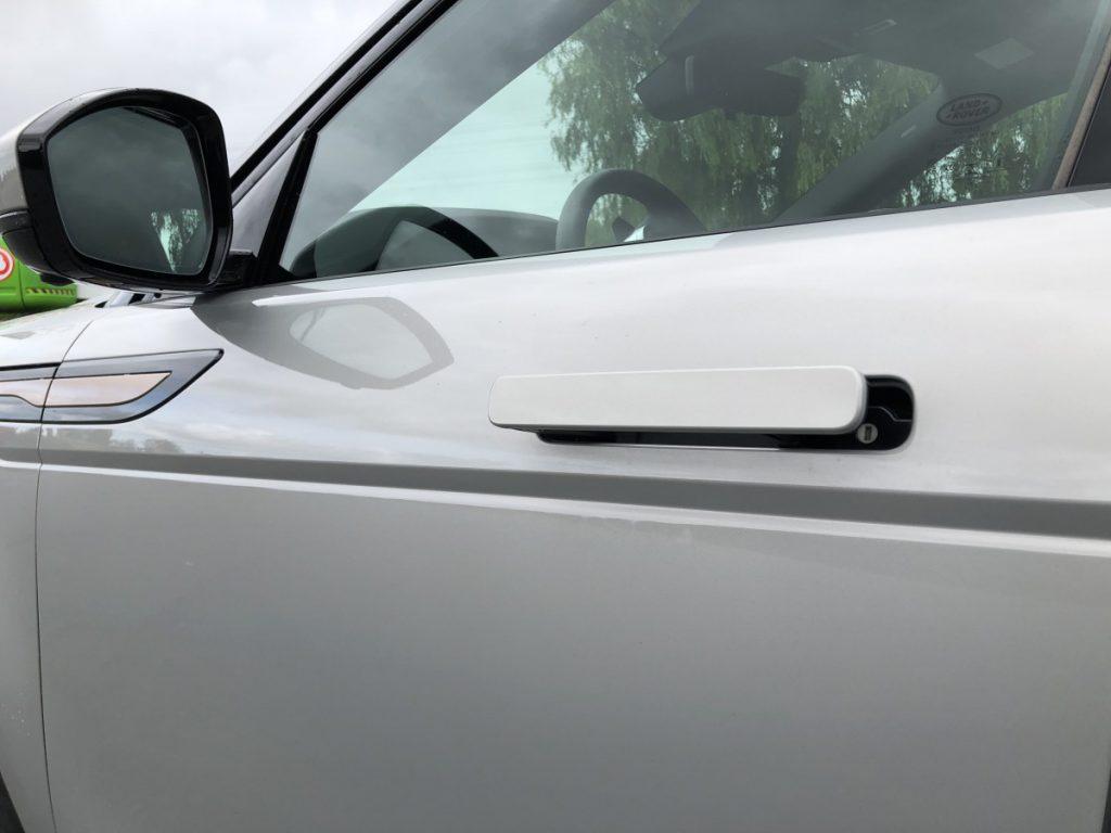 DE details van de nieuwe Range Rover Evoque zijn echt heel mooi geworden