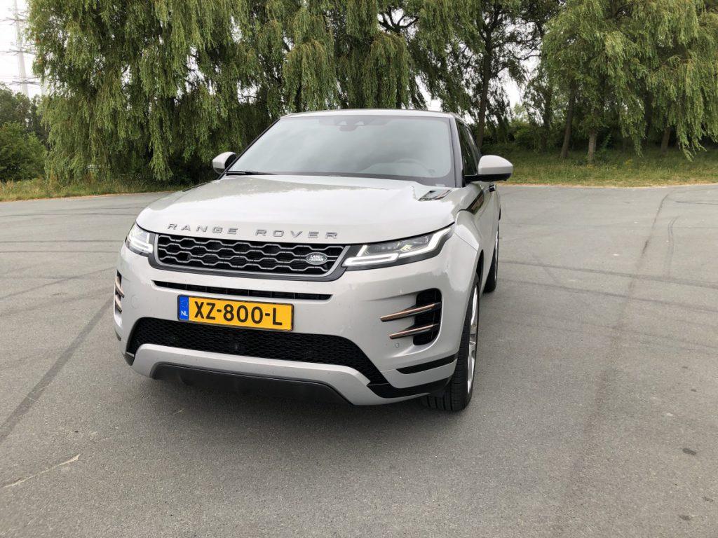 De nieuwe Range Rover Evogue voorkant