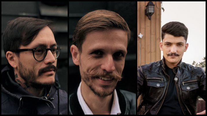 De snor in 2020 voor mannen
