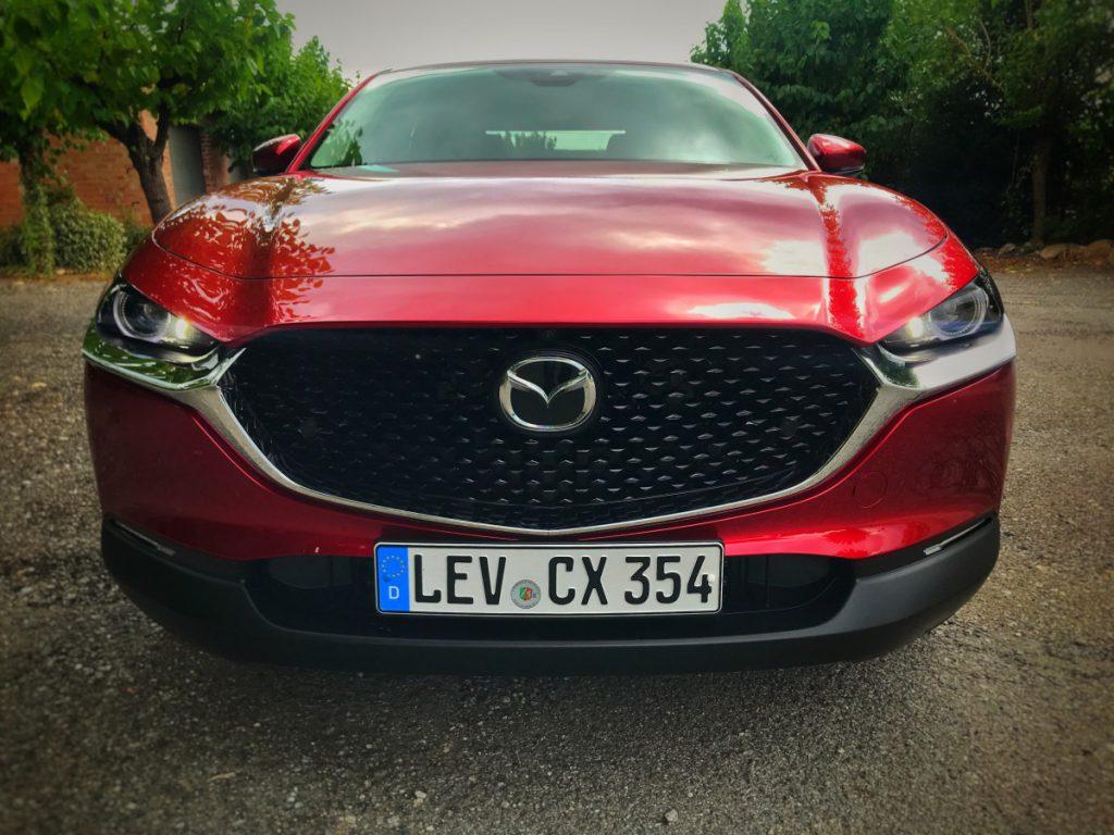De dikke neus van de Mazda