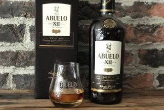 The Abuelo 12 two oaks rum