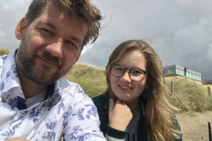 Jan Willem Huffmeijer samen met Beaudine Kaldenbach