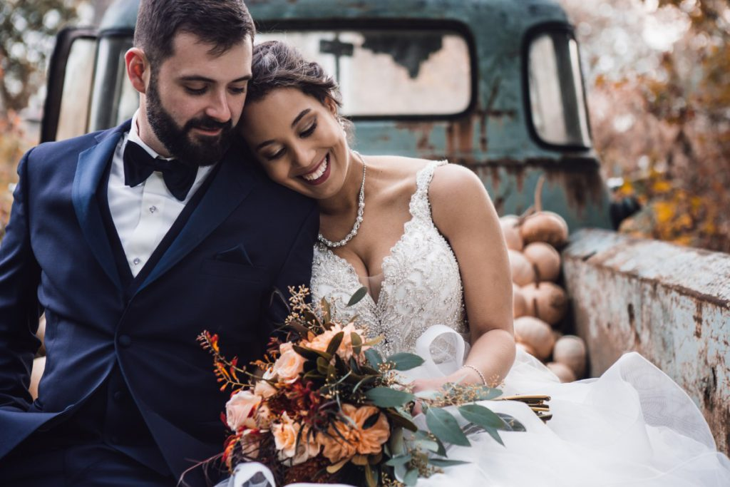 een happy bruid is heel belangrijk