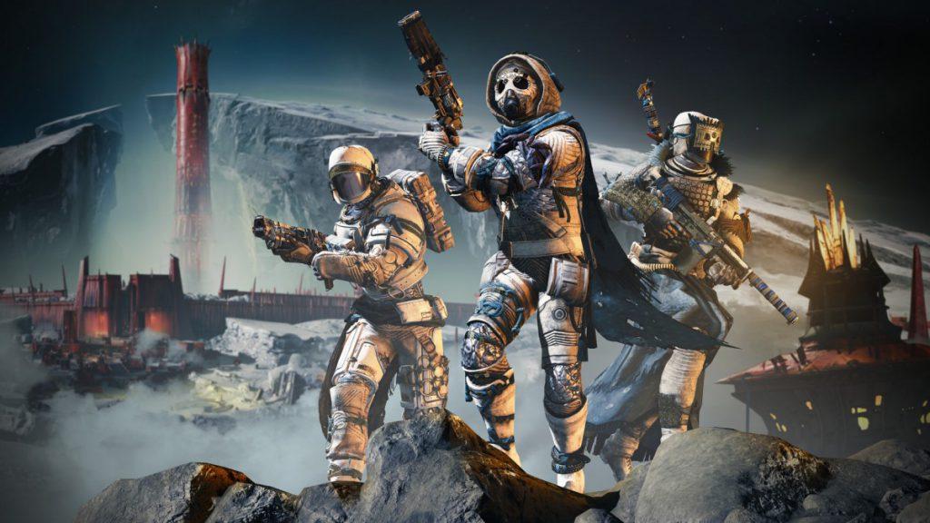 Destiny 2 Shadowkeep style Titan, Hunter en Warlock