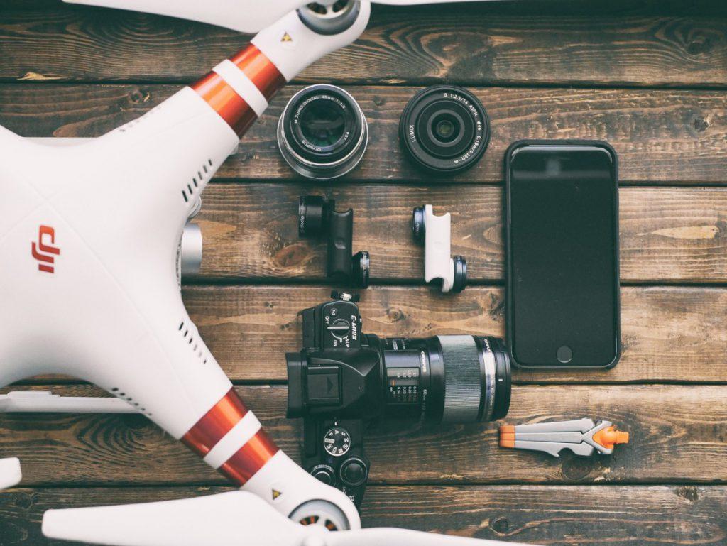 Een drone bied heel veel mogelijkheden