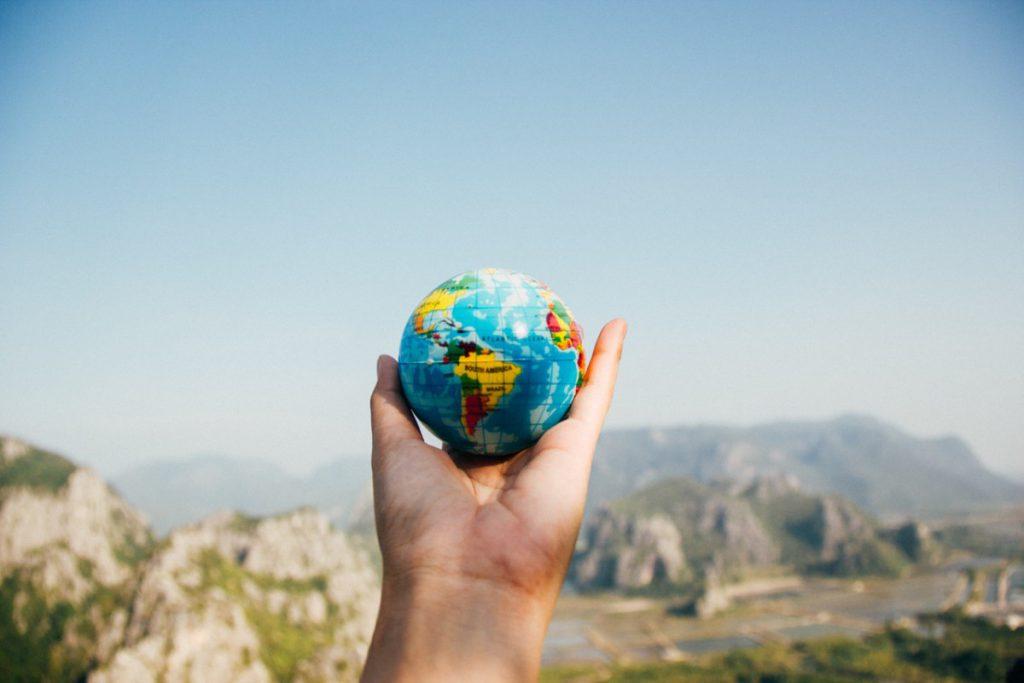 De wereld in je hand