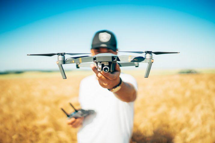 vliegen met drones