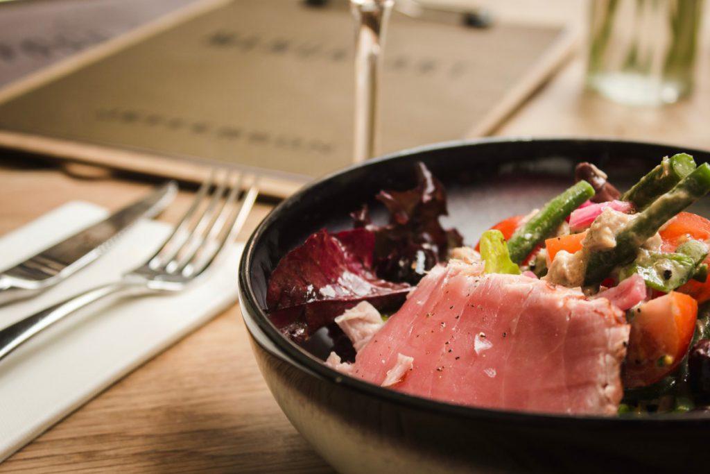 Een heerlijke tonijnsalade