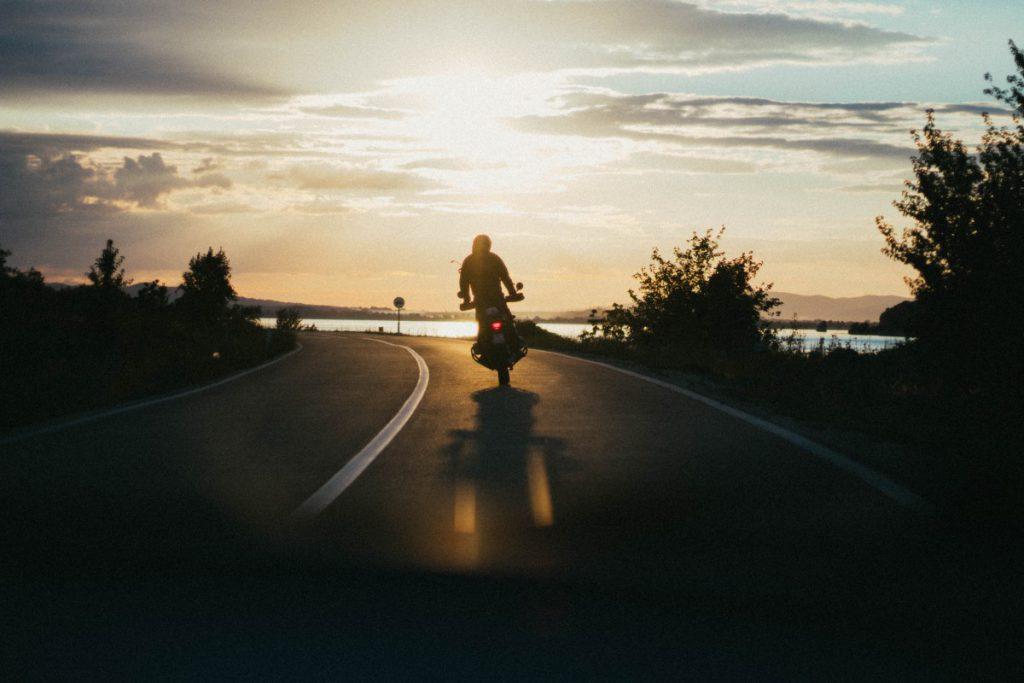 Heerlijke rijden op de motor