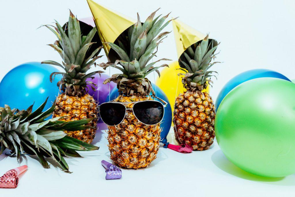 een tropische tintje aan het feest maakt je feest nog persoonlijker