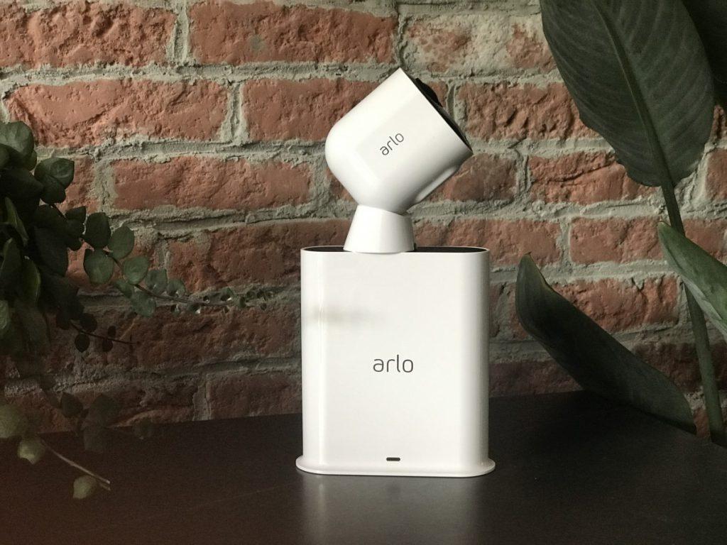 Arlo Camera op het basisstation