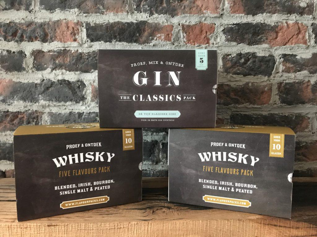 Whisky en Gin thuisproeverijen van Greetz