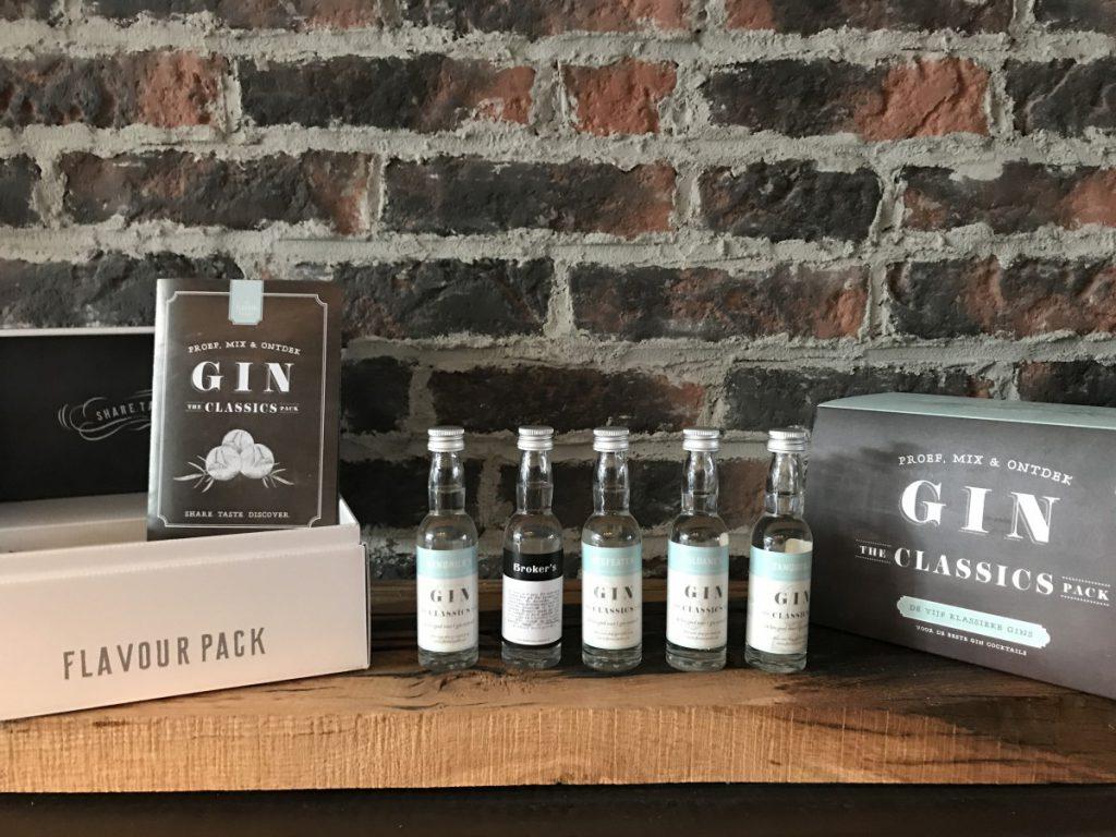 Een thuisproeverij als cadeau met gin