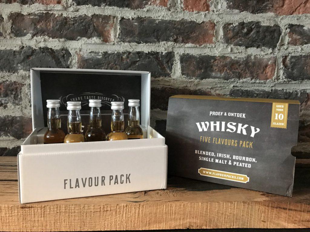 Greetz thuisproeverij whisky verpakking