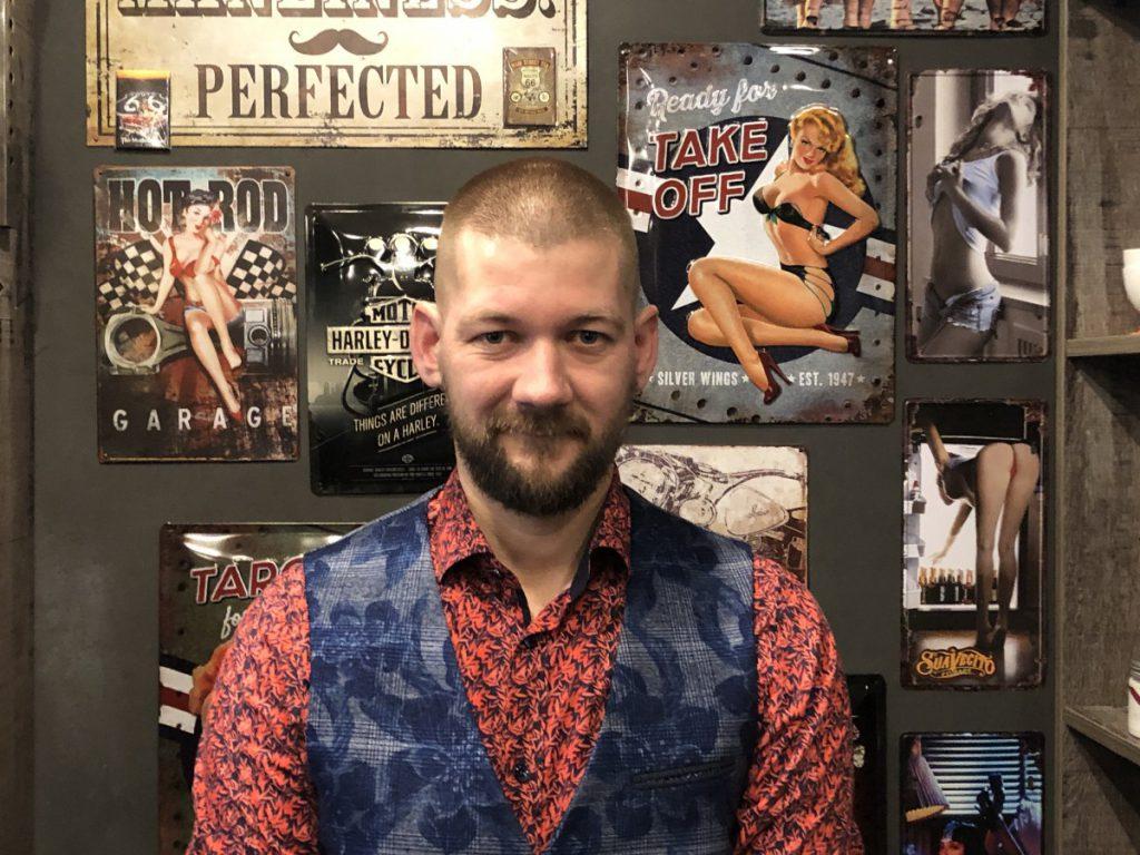 Een super kort kapsel voor mannen foto uit de B4men Barbershop in Hoofddorp