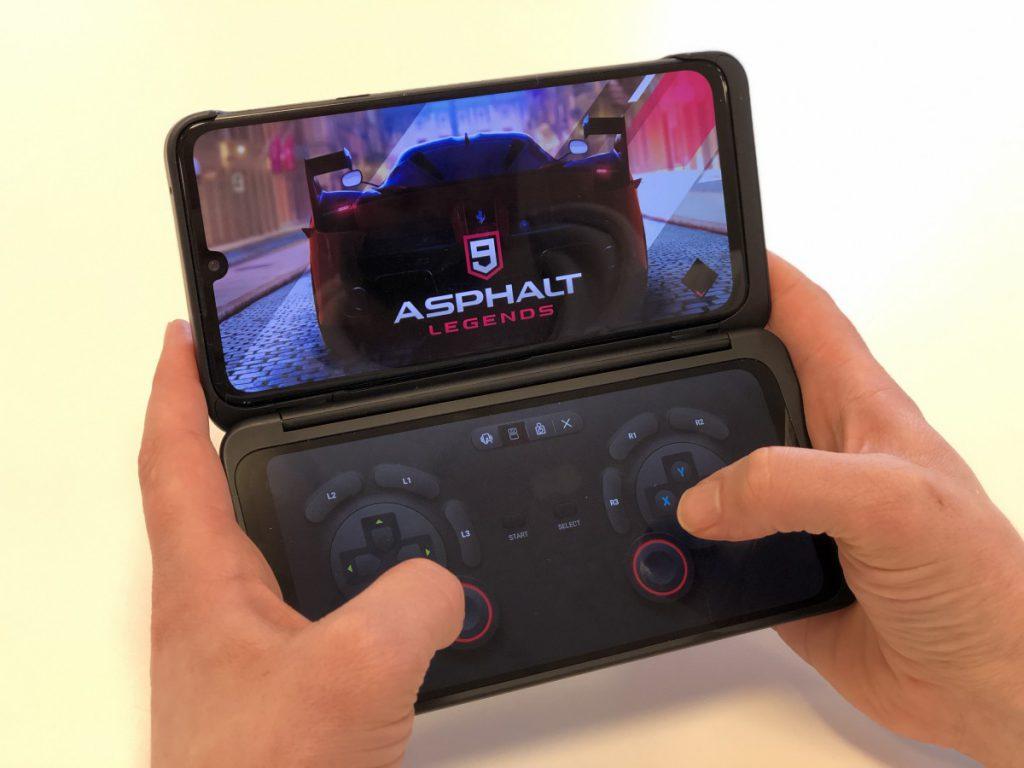 Gamen op de LG Dual Screen is super handig