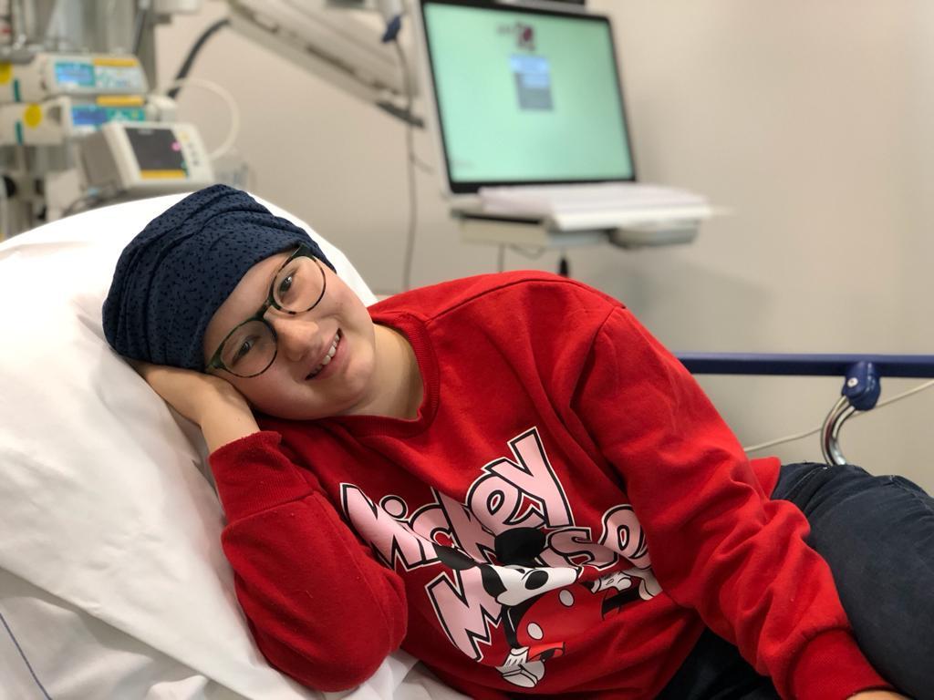 Beaudine in het ziekenhuis