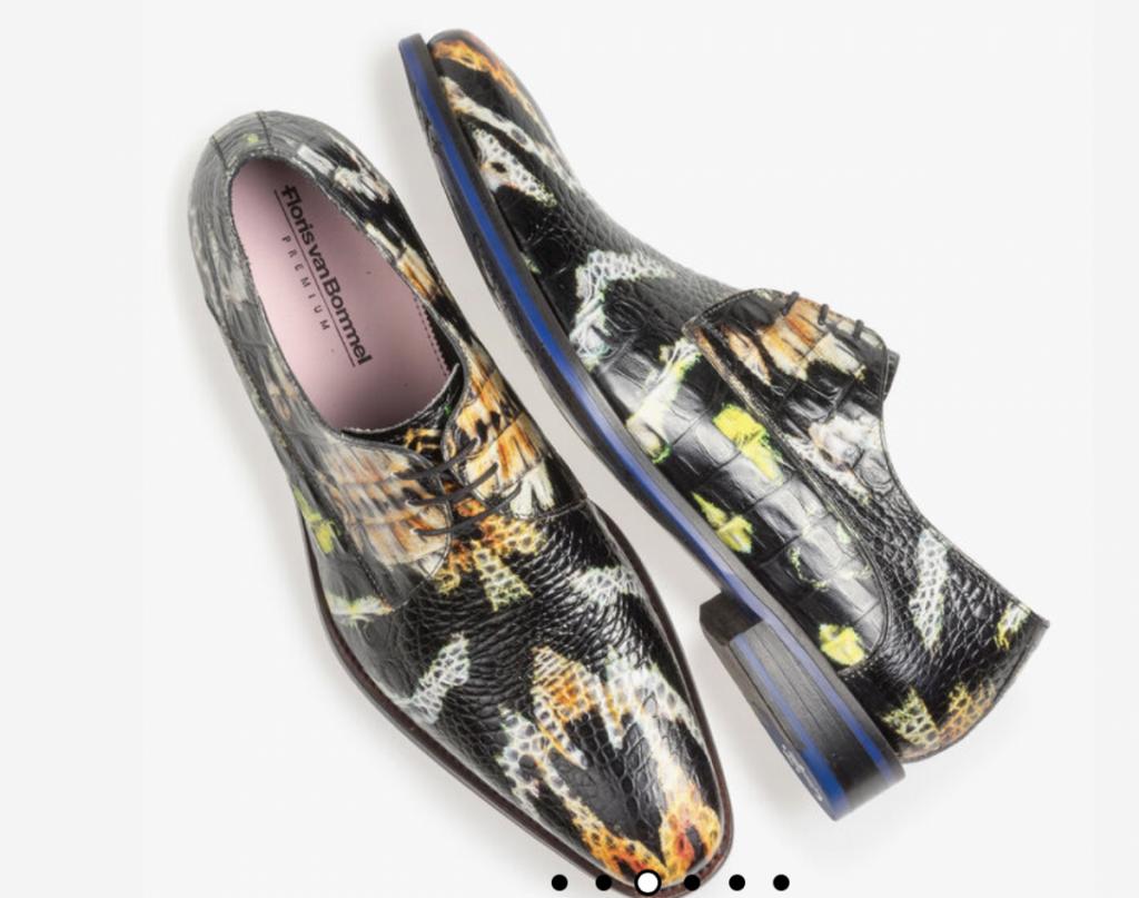 De schoenen voor mannen van Floris van Bommel