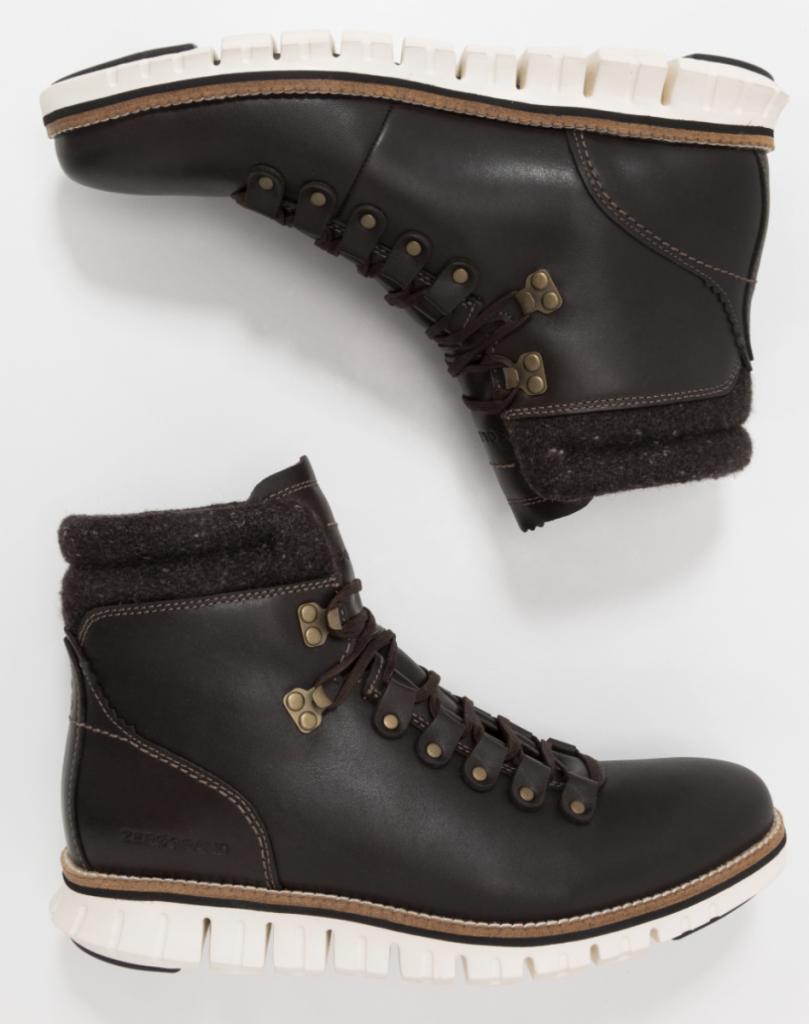 Grove schoenen met opvallende zolen