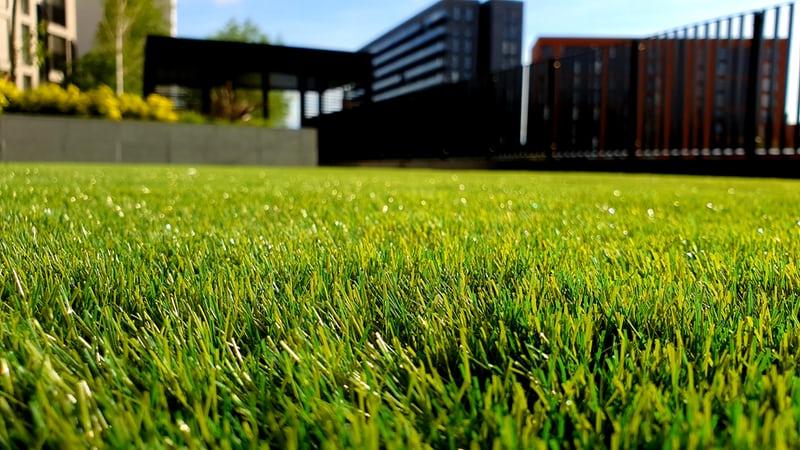 kunstgras ofwel nep gras voor een onderhoudsarme tuin