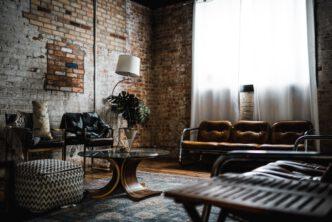 vintage vloerkleed past bij een vintage interieur