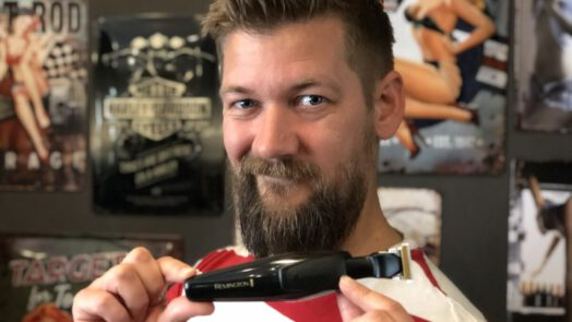 remington mb7000 t-serie baardtrimmer is erg handig is erg handig om zelf je baard mee te trimmen
