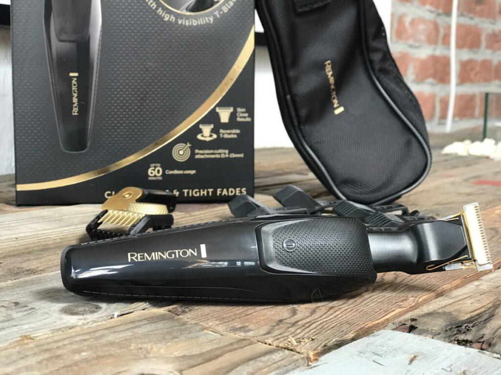 remington mb7000 t-serie baardtrimmer  dit zit er allemaal in het pakket