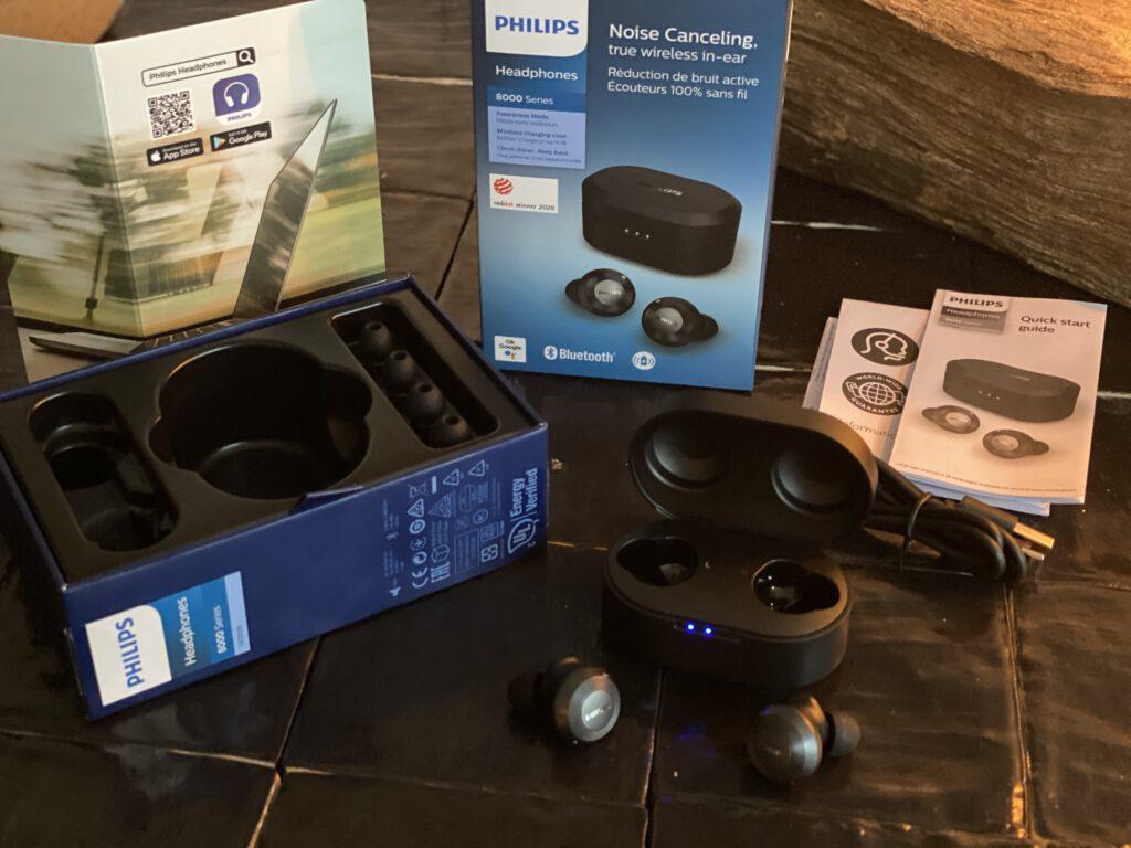 Alles wat je krijgt bij de Philips Sound T8505