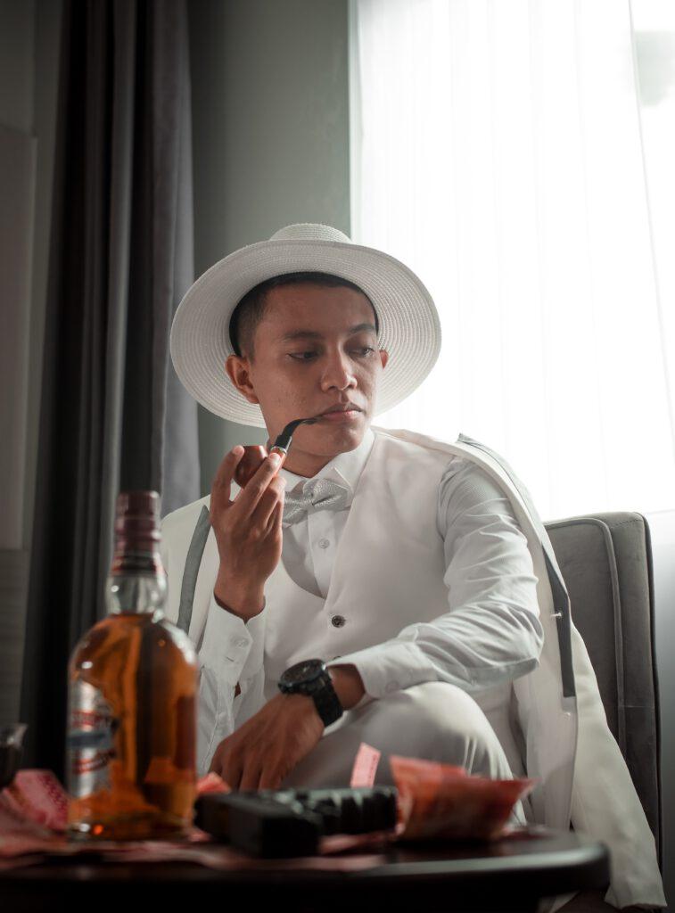 als man een hoed dragen