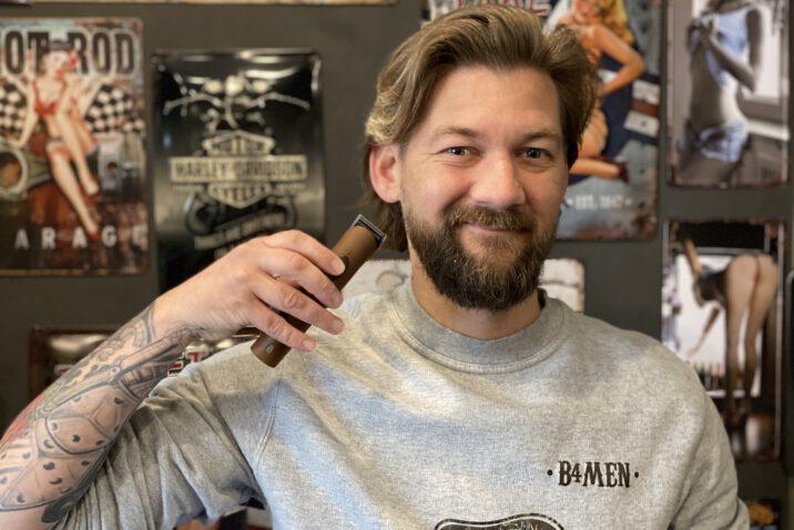 zelf baard trimmen met een baardtrimmer