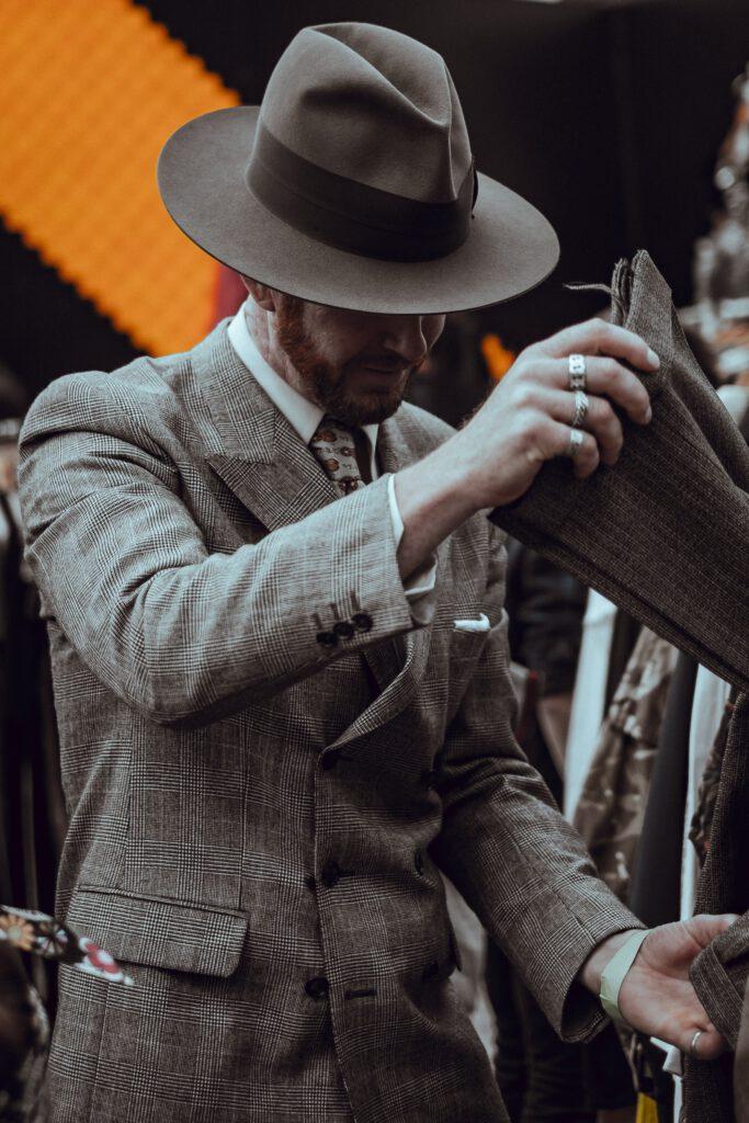 man en hoed