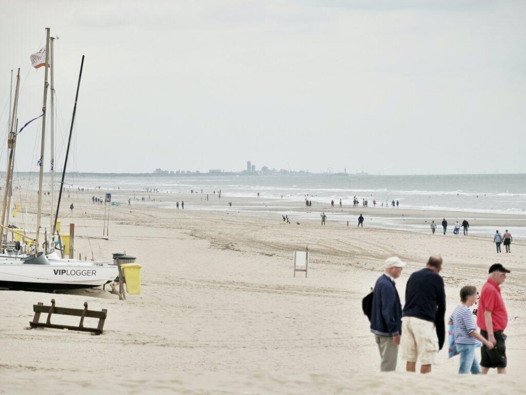 naar het strand als moederdag cadeau idee
