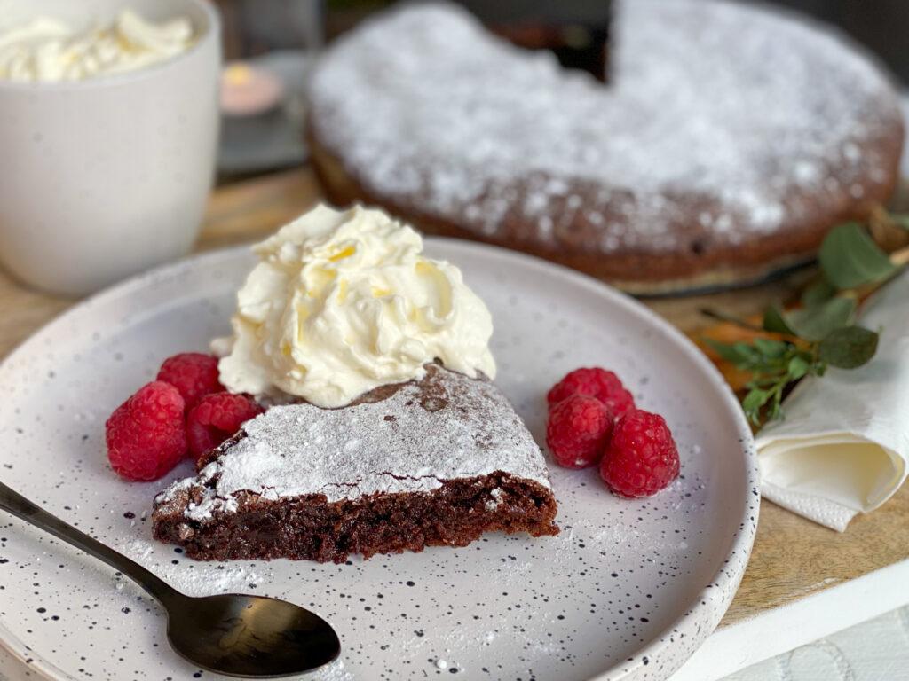 kladdkaka Zweedse chocolade taart voor moederdag cadeau maken