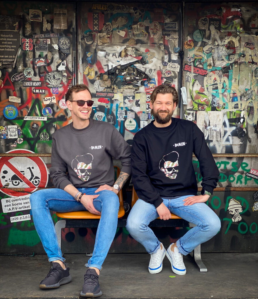 B4men sweater zomer 2021 kleding