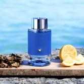 Montblanc Explorer Ultra Blue zomergeur voor mannen 2021 B4men