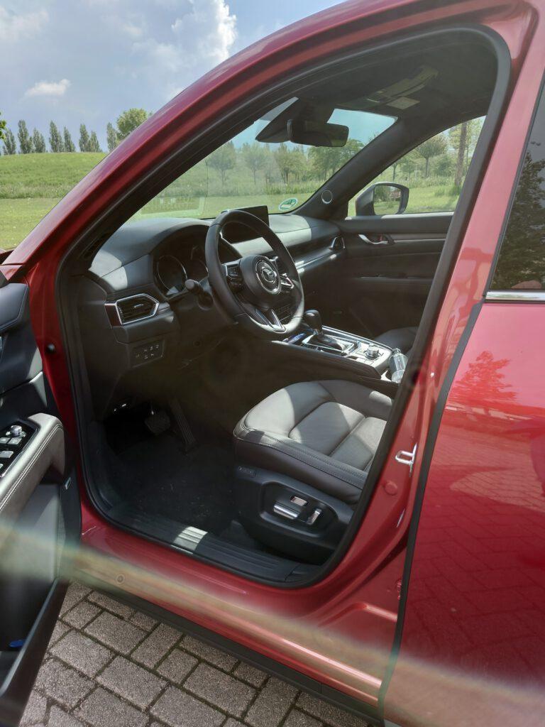 binnenkant Mazda CX 5